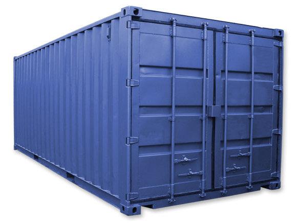 Dry container, Philco Internationnal, Le Havre - Paris - Marseille, France