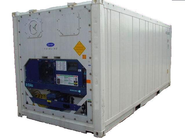 Reefer container, Philco Internationnal, Le Havre - Paris - Marseille, France